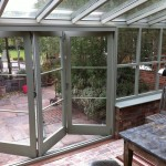 Painted bi fold doors bi-fold double glazed