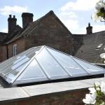 Timber Roof Lantern opening vent stunning