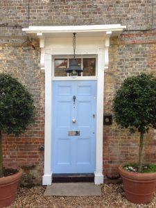 Blue Timber front door accoya wooden