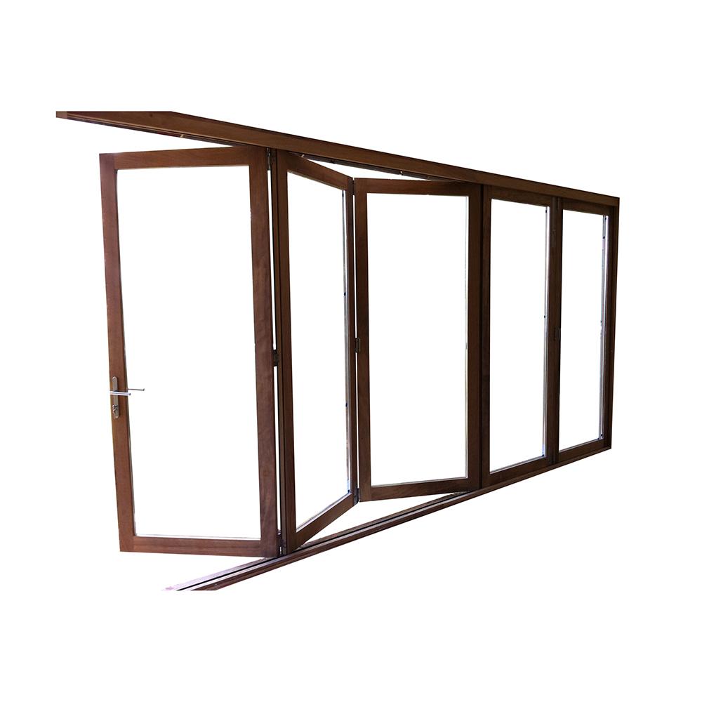 Double glazed hardwood bifold doors bi-fold