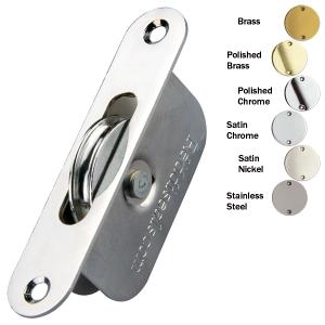 Sash pulley radius end