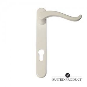 Swan neck multi-point door White