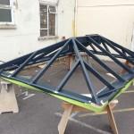 Timber Roof Lantern aluminium oak hardwood accoya