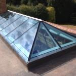 Fitting Medina Joinery Timber Roof Lantern