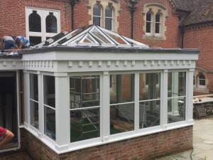 Accoya Classic Conservatory painted white