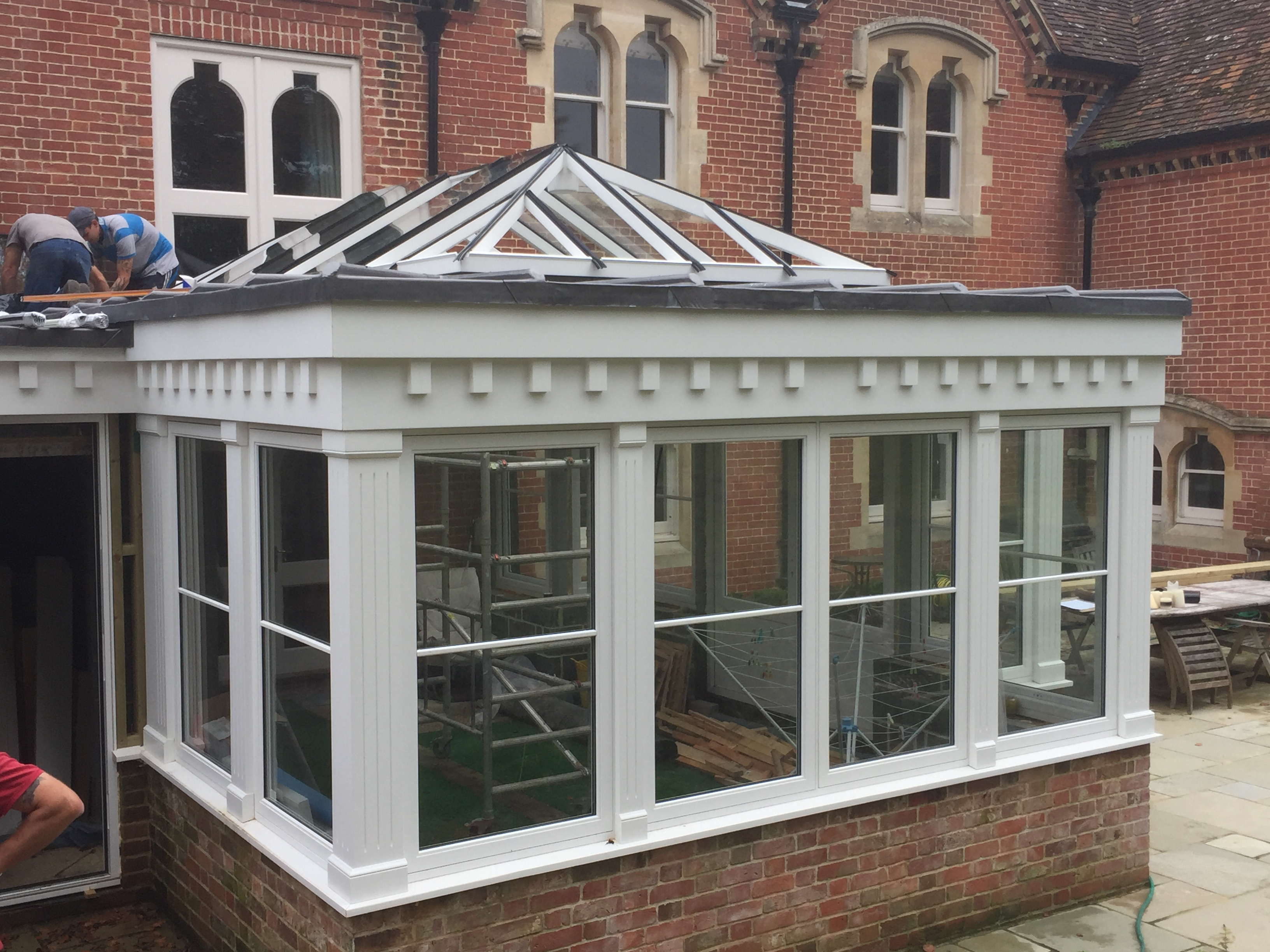 French casement windows photos houzz - Accoya Classic Conservatory Painted White
