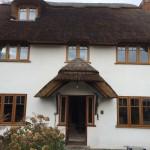 oak Casement windows accoya door double glazed