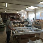 Medina Joinery Workshop weather seal window manufacture