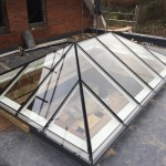 Timber Roof Lantern assembly