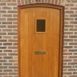 Solid Hardwood Oak Front Door oiled