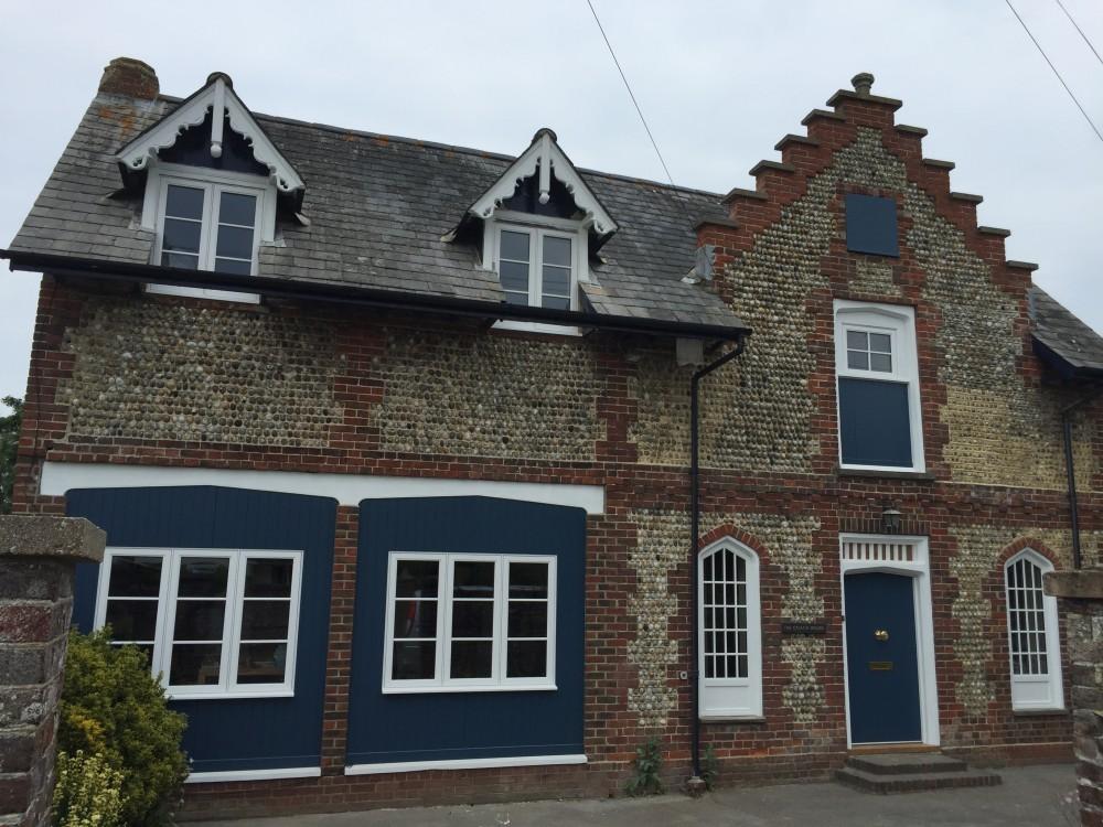 Accoya painted Victorian windows and doors