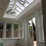 Timber Roof Lantern accoya windows oak