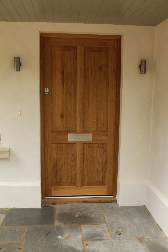 Solid Oak hardwood Door