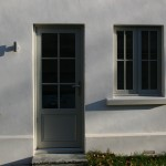 Painted Accoya Door and window