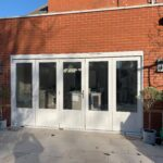 Accoya timber Bifold folding patio doors