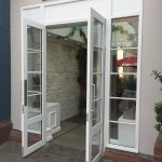 Timber Accoya French doors sidelights bicester village