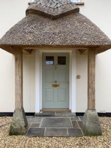Accoya Front door entrance timber porch