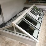 Timber Gable End Roof Lantern Light vents