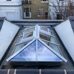 Timber Roof Lantern Light London Surrey Sussex