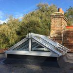 Timber gable end roof lantern Light Skylight