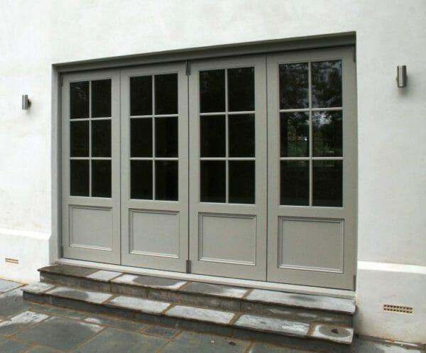 Accoya folding doors Bifold timber patio door