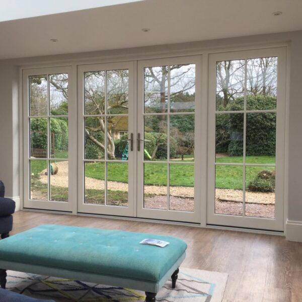 Accoya French doors and windows