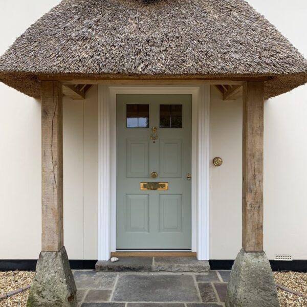 Accoya Front door entrance timber porch doors