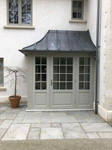 Accoya Front door porch wooden stunning timber