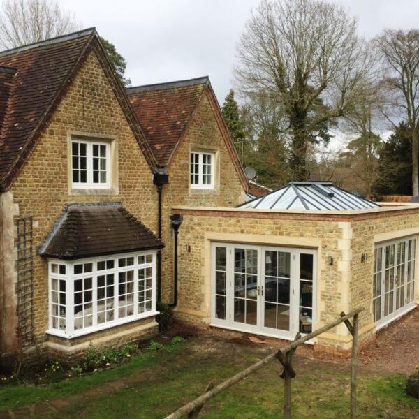 Timber Orangery wooden conservatory accoya Eco