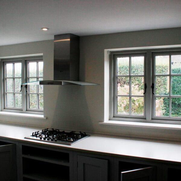 Accoya timber windows hardwood casement london hampshire