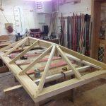Timber Roof Lantern workshop Accoya Oak Hardwood