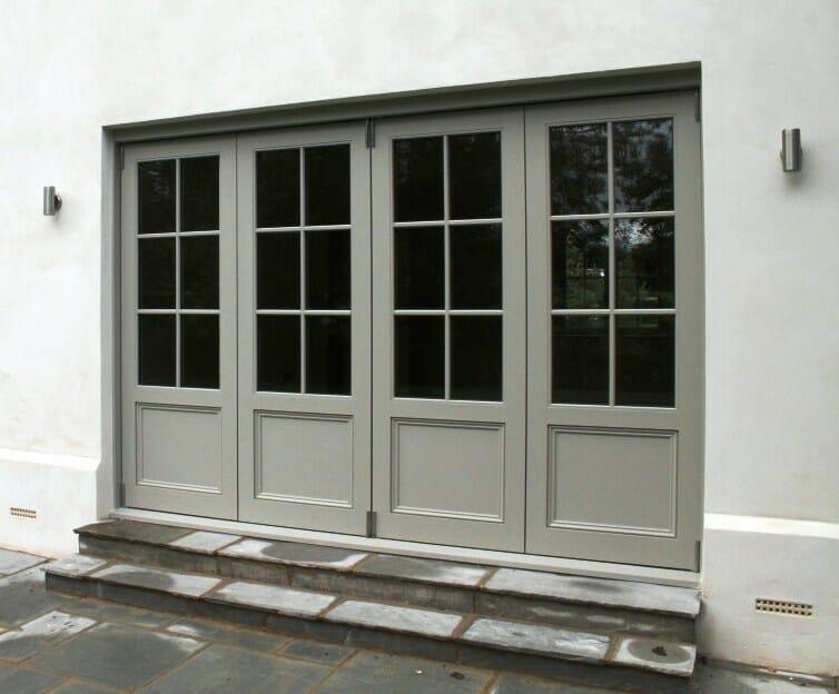 Accoya Bifold Doors folding glazed