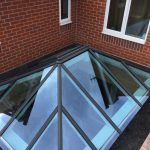 Timber Roof Lantern with vent
