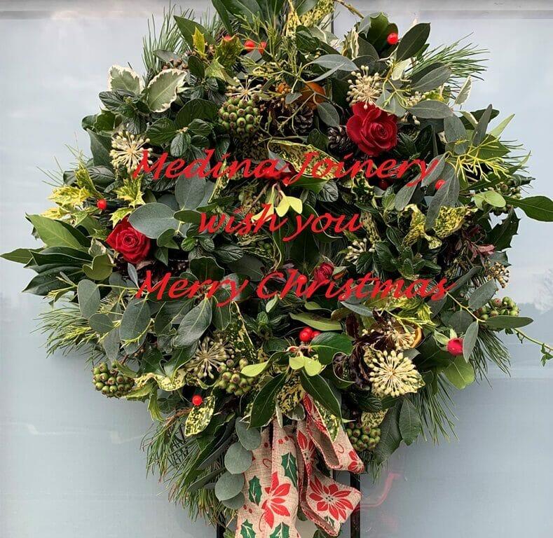 Medina Joinery Merry Christmas Happy New Year