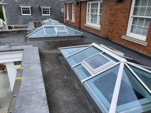 Bespoke Timber Roof Lights in Surrey