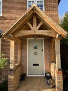 Accoya Timber front door porch