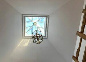 Timber Roof Light Skylight Pendant